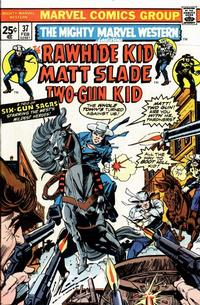 Cover Thumbnail for The Mighty Marvel Western (Marvel, 1968 series) #37