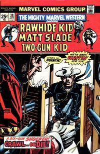 Cover Thumbnail for The Mighty Marvel Western (Marvel, 1968 series) #38