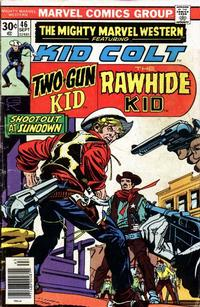 Cover Thumbnail for The Mighty Marvel Western (Marvel, 1968 series) #46