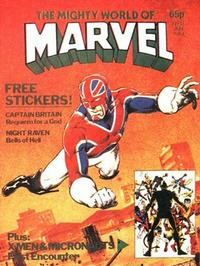 Cover Thumbnail for The Mighty World of Marvel (Marvel UK, 1982 series) #13