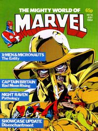 Cover Thumbnail for The Mighty World of Marvel (Marvel UK, 1982 series) #14