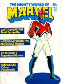 Cover Thumbnail for The Mighty World of Marvel (Marvel UK, 1982 series) #15