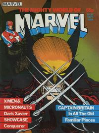 Cover Thumbnail for The Mighty World of Marvel (Marvel UK, 1982 series) #16