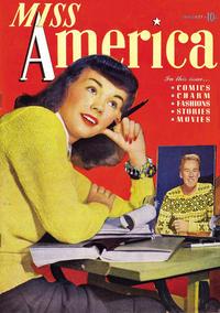 Cover Thumbnail for Miss America Magazine (Marvel, 1944 series) #v1#4