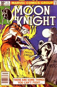 Cover Thumbnail for Moon Knight (Marvel, 1980 series) #5 [Newsstand]