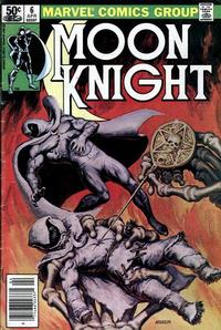 Cover Thumbnail for Moon Knight (Marvel, 1980 series) #6 [Newsstand]