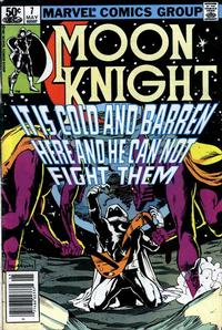 Cover for Moon Knight (Marvel, 1980 series) #7 [Direct]