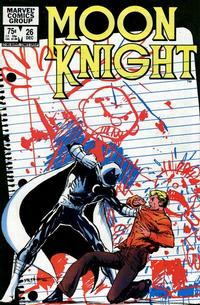 Cover Thumbnail for Moon Knight (Marvel, 1980 series) #26