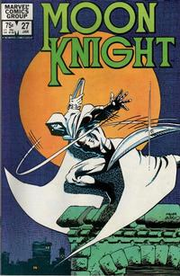 Cover Thumbnail for Moon Knight (Marvel, 1980 series) #27