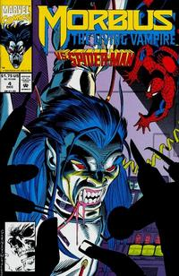 Cover Thumbnail for Morbius: The Living Vampire (Marvel, 1992 series) #4