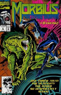 Cover for Morbius: The Living Vampire (Marvel, 1992 series) #6 [Direct Edition]
