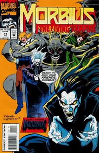 Cover Thumbnail for Morbius: The Living Vampire (Marvel, 1992 series) #11