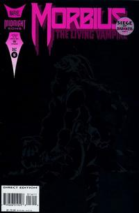 Cover for Morbius: The Living Vampire (Marvel, 1992 series) #16
