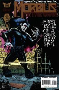 Cover for Morbius: The Living Vampire (Marvel, 1992 series) #25