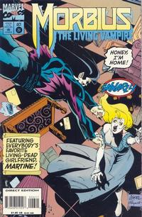 Cover for Morbius: The Living Vampire (Marvel, 1992 series) #26