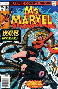 Cover Thumbnail for Ms. Marvel (Marvel, 1977 series) #16 [Regular Edition]