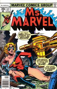 Cover Thumbnail for Ms. Marvel (Marvel, 1977 series) #17