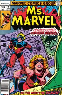 Cover Thumbnail for Ms. Marvel (Marvel, 1977 series) #19