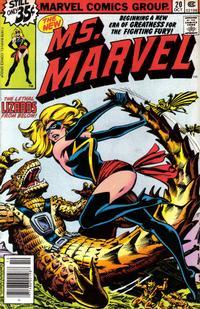 Cover Thumbnail for Ms. Marvel (Marvel, 1977 series) #20