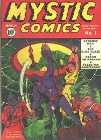 Cover Thumbnail for Mystic Comics (Marvel, 1940 series) #1