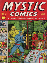 Cover Thumbnail for Mystic Comics (Marvel, 1940 series) #3