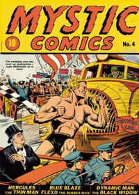 Cover Thumbnail for Mystic Comics (Marvel, 1940 series) #4