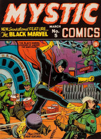 Cover Thumbnail for Mystic Comics (Marvel, 1940 series) #5