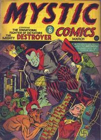 Cover Thumbnail for Mystic Comics (Marvel, 1940 series) #8