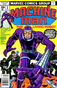 Cover Thumbnail for Machine Man (Marvel, 1978 series) #1