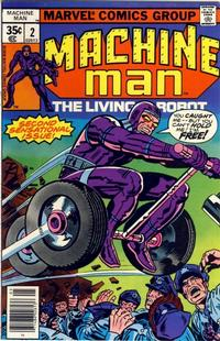 Cover Thumbnail for Machine Man (Marvel, 1978 series) #2