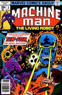 Cover Thumbnail for Machine Man (Marvel, 1978 series) #3