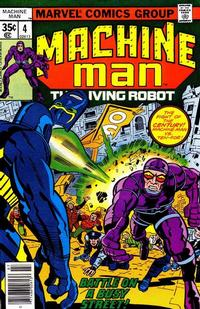 Cover Thumbnail for Machine Man (Marvel, 1978 series) #4