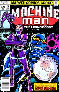 Cover Thumbnail for Machine Man (Marvel, 1978 series) #5 [Regular Edition]