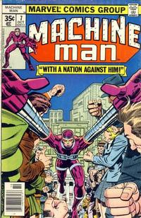 Cover Thumbnail for Machine Man (Marvel, 1978 series) #7