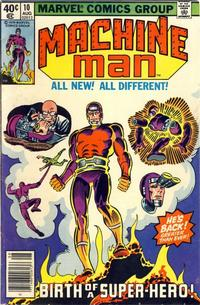 Cover Thumbnail for Machine Man (Marvel, 1978 series) #10 [Newsstand]
