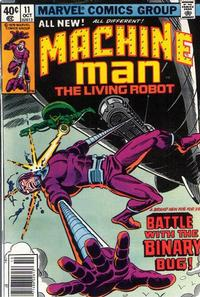 Cover Thumbnail for Machine Man (Marvel, 1978 series) #11 [Newsstand]
