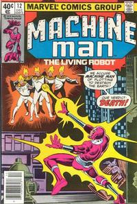 Cover Thumbnail for Machine Man (Marvel, 1978 series) #12 [Newsstand]