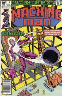 Cover Thumbnail for Machine Man (Marvel, 1978 series) #13 [Newsstand]