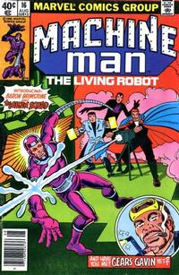 Cover Thumbnail for Machine Man (Marvel, 1978 series) #16 [Newsstand]