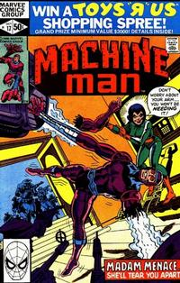 Cover Thumbnail for Machine Man (Marvel, 1978 series) #17 [Direct]