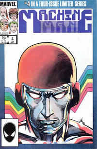 Cover Thumbnail for Machine Man (Marvel, 1984 series) #4