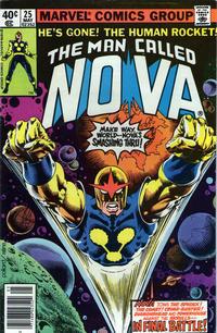 Cover Thumbnail for The Man Called Nova (Marvel, 1978 series) #25