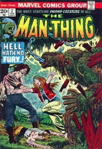 Cover Thumbnail for Man-Thing (Marvel, 1974 series) #2