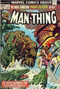 Cover Thumbnail for Man-Thing (Marvel, 1974 series) #3