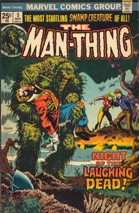 Cover Thumbnail for Man-Thing (Marvel, 1974 series) #5