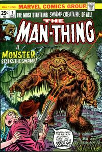 Cover Thumbnail for Man-Thing (Marvel, 1974 series) #7