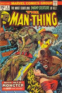 Cover Thumbnail for Man-Thing (Marvel, 1974 series) #8