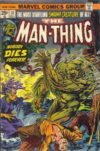 Cover Thumbnail for Man-Thing (Marvel, 1974 series) #10