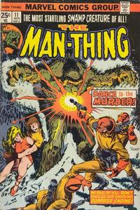 Cover Thumbnail for Man-Thing (Marvel, 1974 series) #11