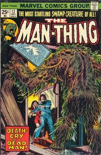Cover Thumbnail for Man-Thing (Marvel, 1974 series) #12